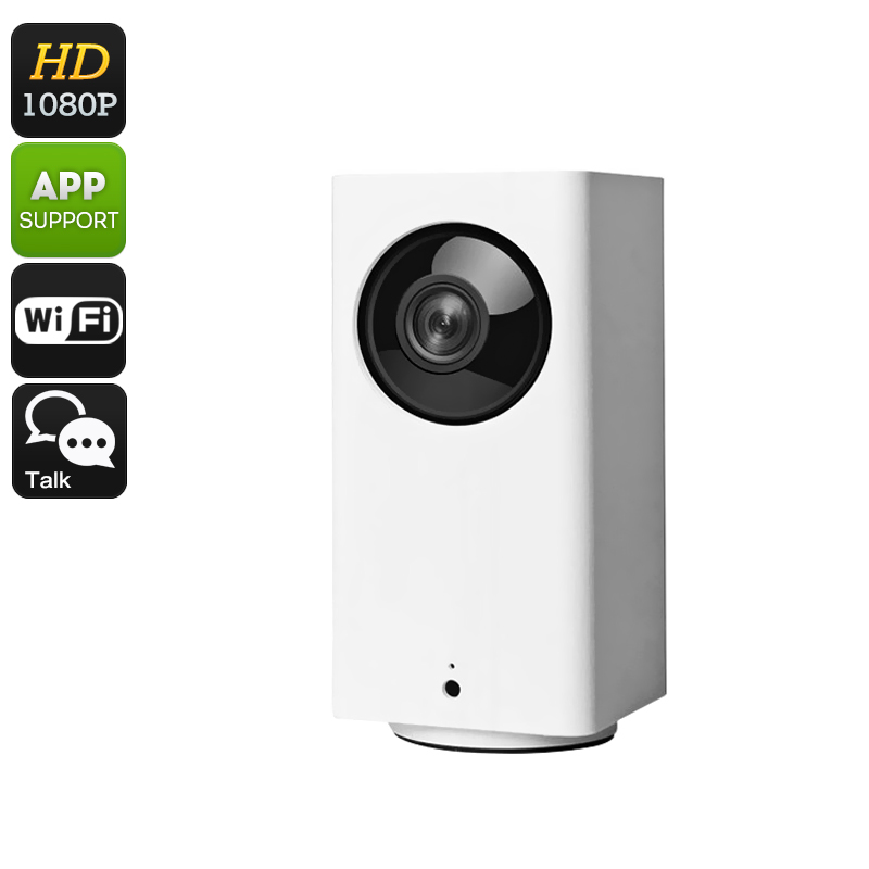 Xiaomi Dafang Smart 1080p WiFi Camera - Full-HD, Night Vision, PTZ Support, Dual-Way Audio, App Support, SD Card Recording