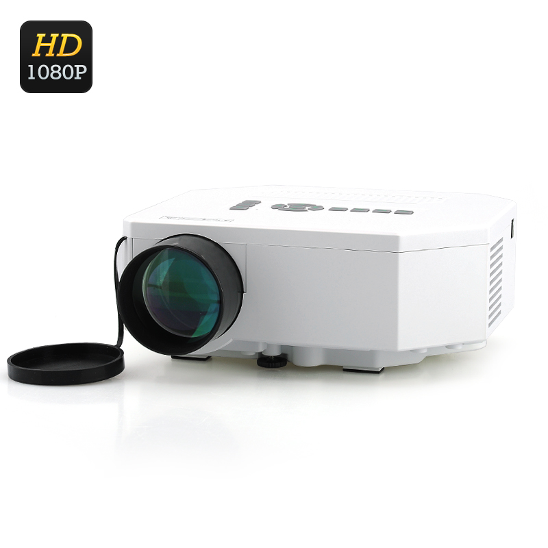 Mini LED Projector - LCD Image System, LED Lamp, 150 Lumens, HDMI Port, 1080p Support