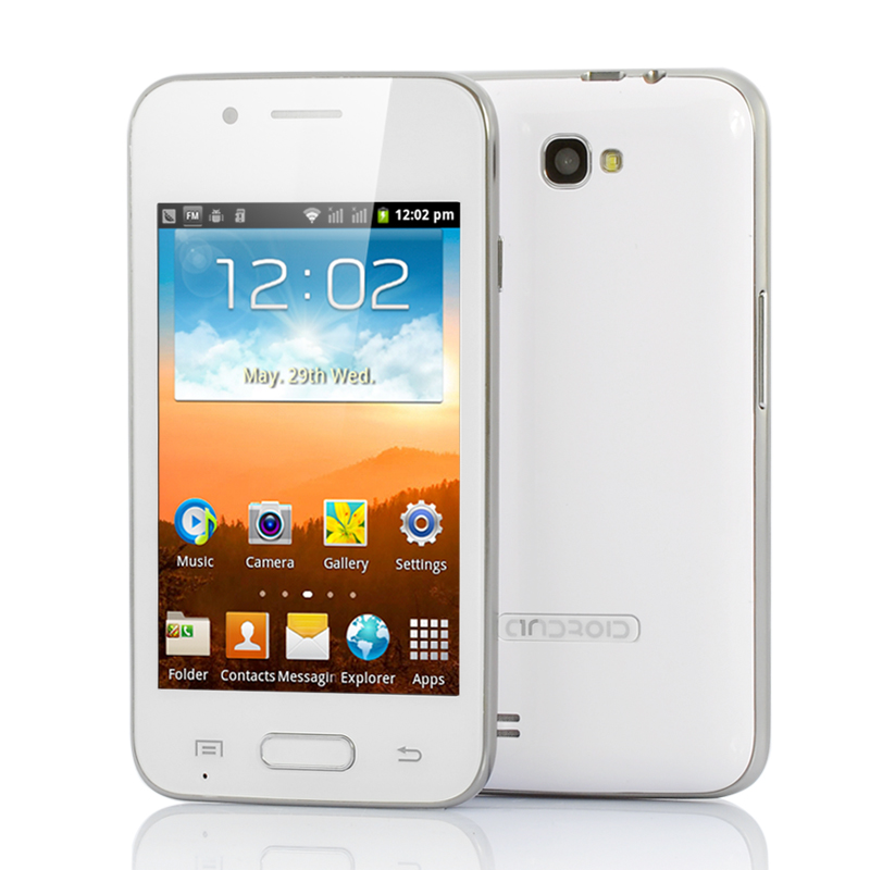 (M) 4 Inch Android Budget Phone - Lotus (W) (M)