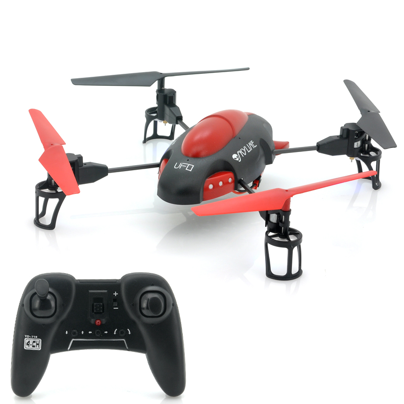 (M) Precision Flying RC Quad Copter - Sky-Line (M)