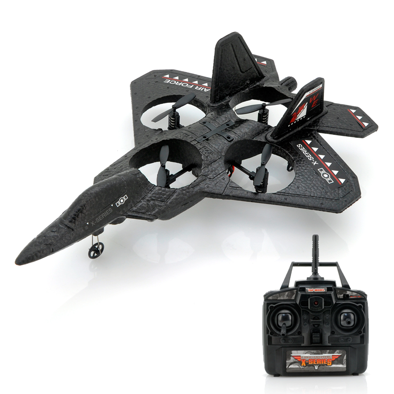 (M) RC Quadcopter Jet Fighter - Air Force X (M)