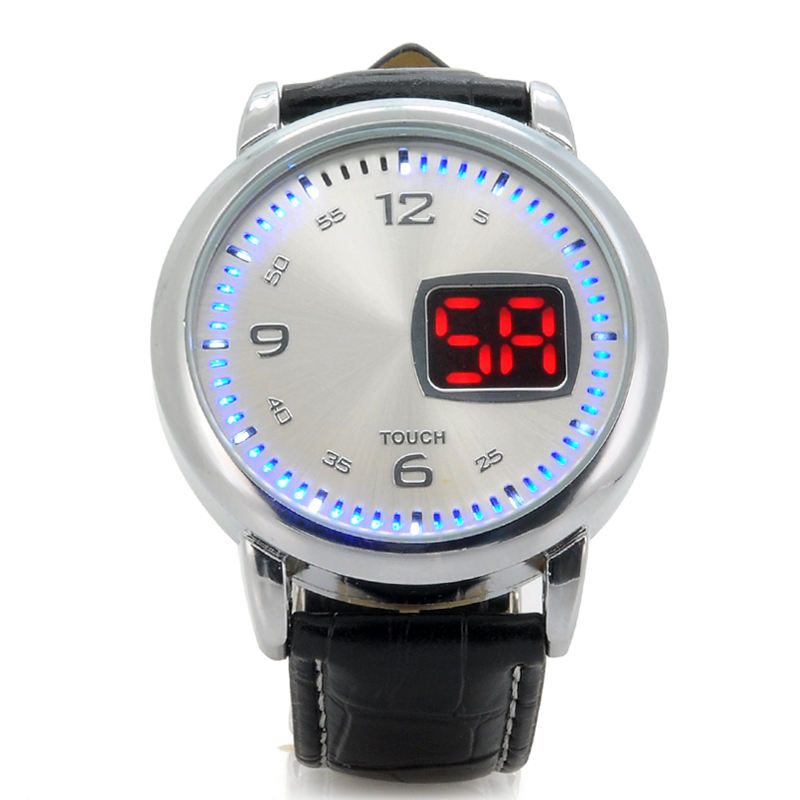 (M) LED Watch w/ Touch Control - Chess (M)