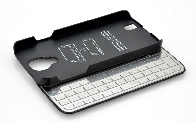 Bluetooth Keyboard Case For Galaxy S4 - Detachable, Ultra Slim ...