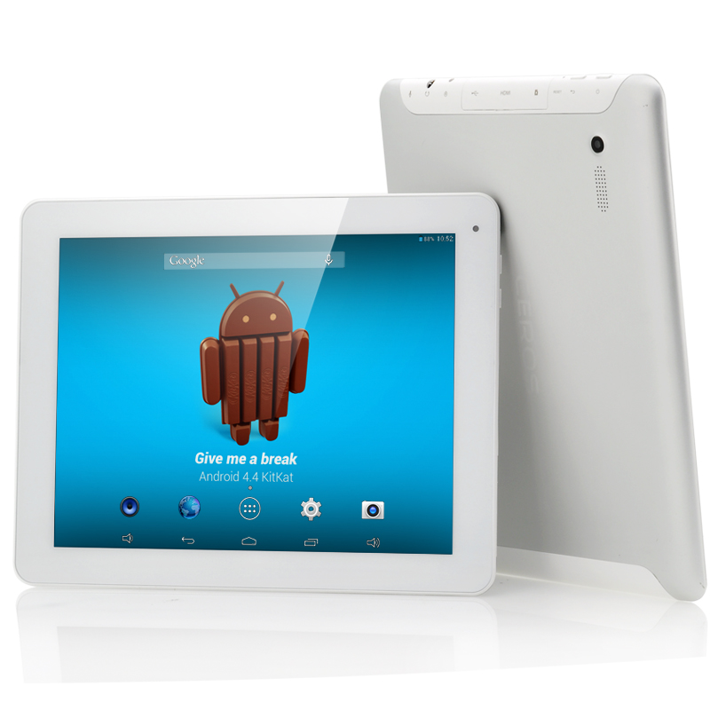 (M) E-Ceros Revolution Android 4.4 Tablet (White) (M)