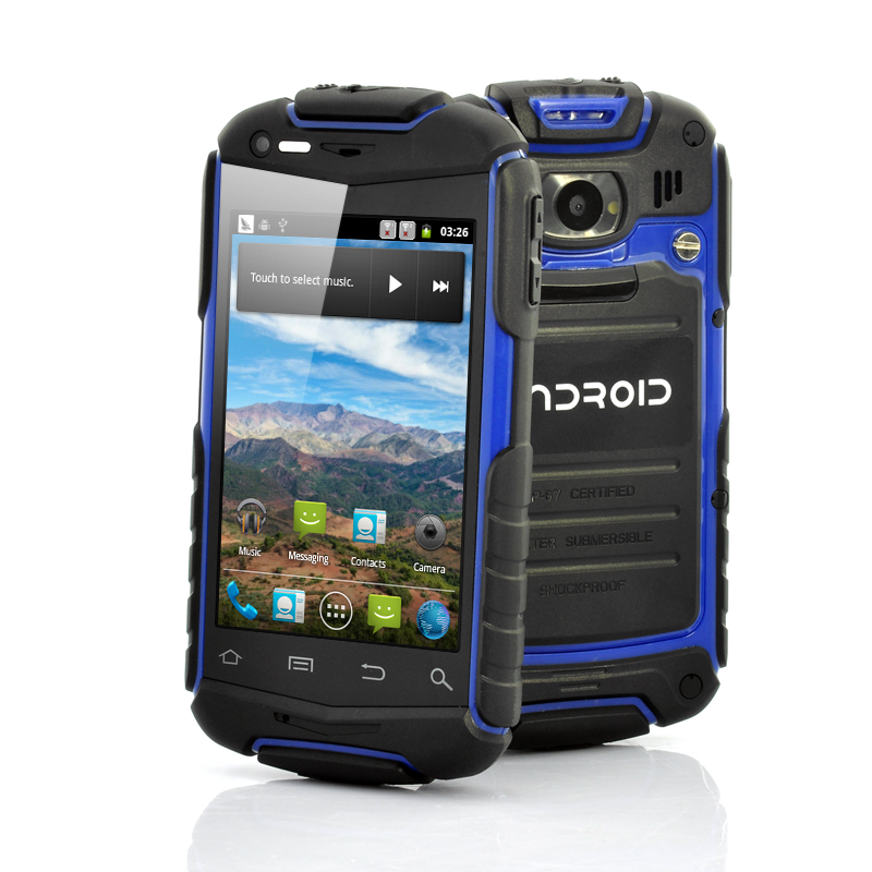 (M) Rugged Android Phone - Atlas-N1 (Blue) (M)
