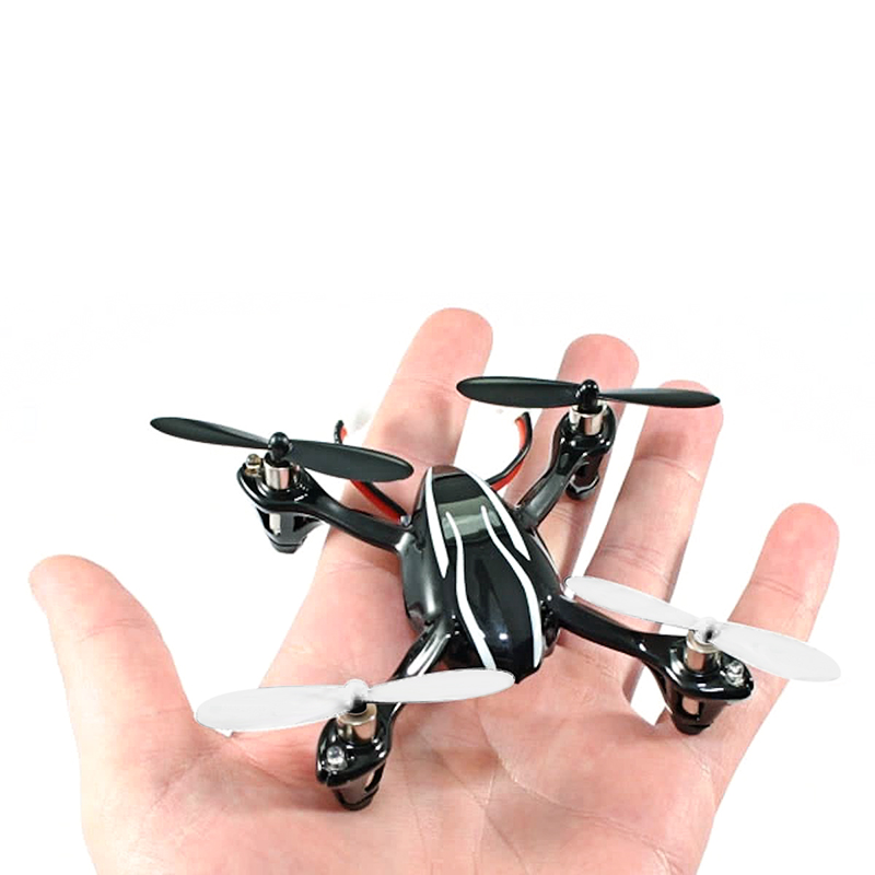 Hubsan X4 H107L Drone - 6-Axis Gyro, LED Lights, Brushless Motor, 2.4g Wireless Control, 80m Flight Distance
