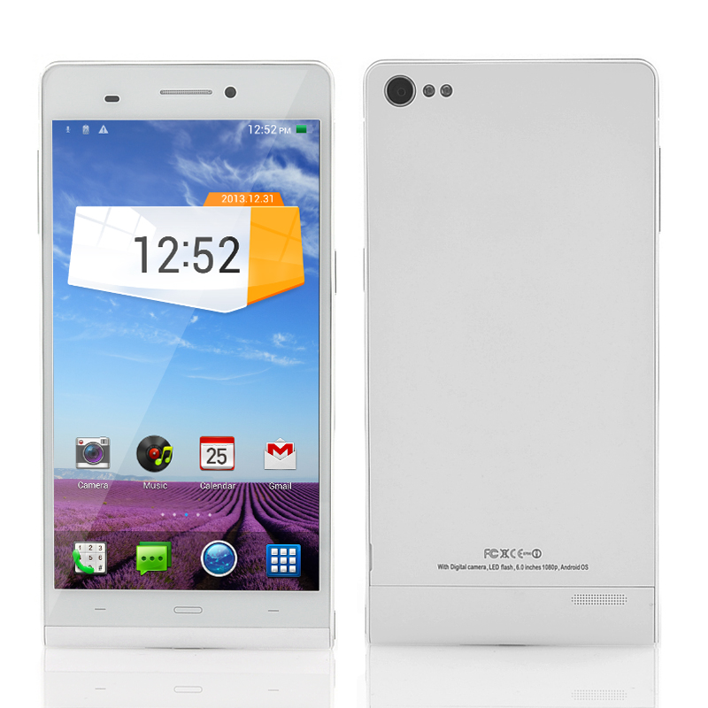 (M) 6 Inch Android 4.2 NFC Phone - Gravity (W) (M)