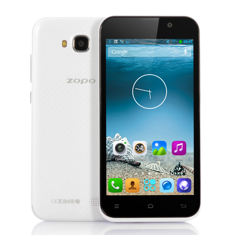 (M) ZOPO ZP700 IPS 4.7 Inch Android Phone (W) (M)