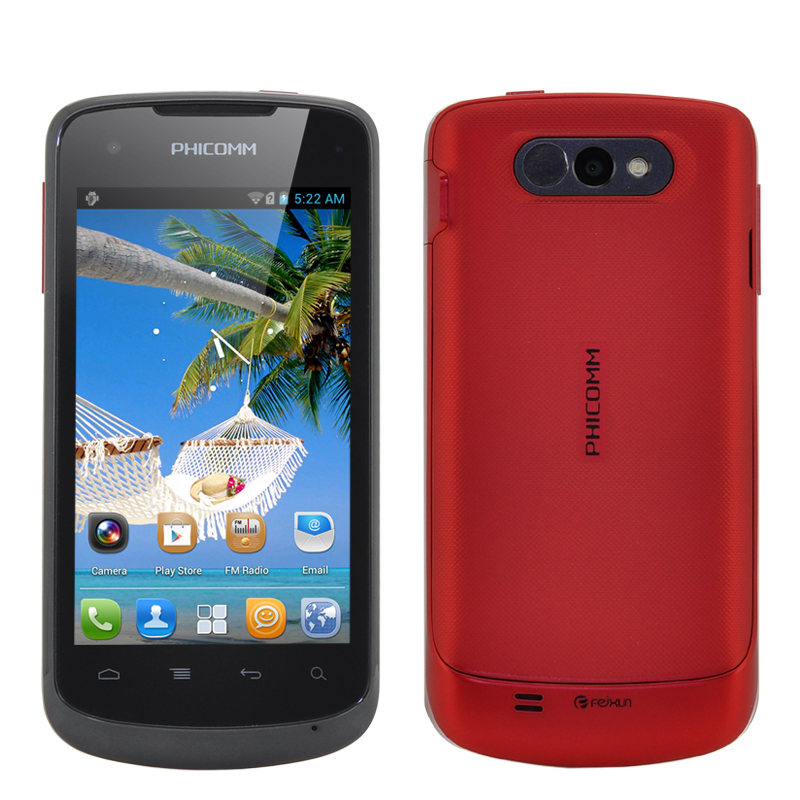 (M) Phicomm FWS710 Android Smartphone (Red) (M)