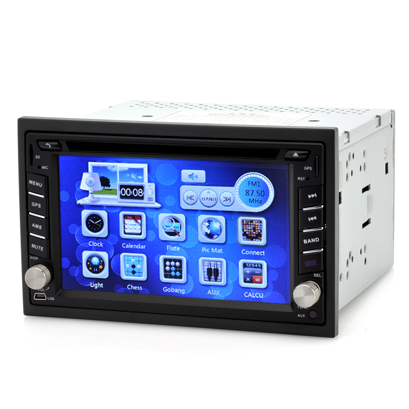 (M) 2DIN Car DVD Player with GPS - Gear (M)