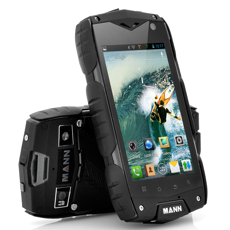 (M) MANN A18 4 Inch Rugged Android Phone  (B) (M)