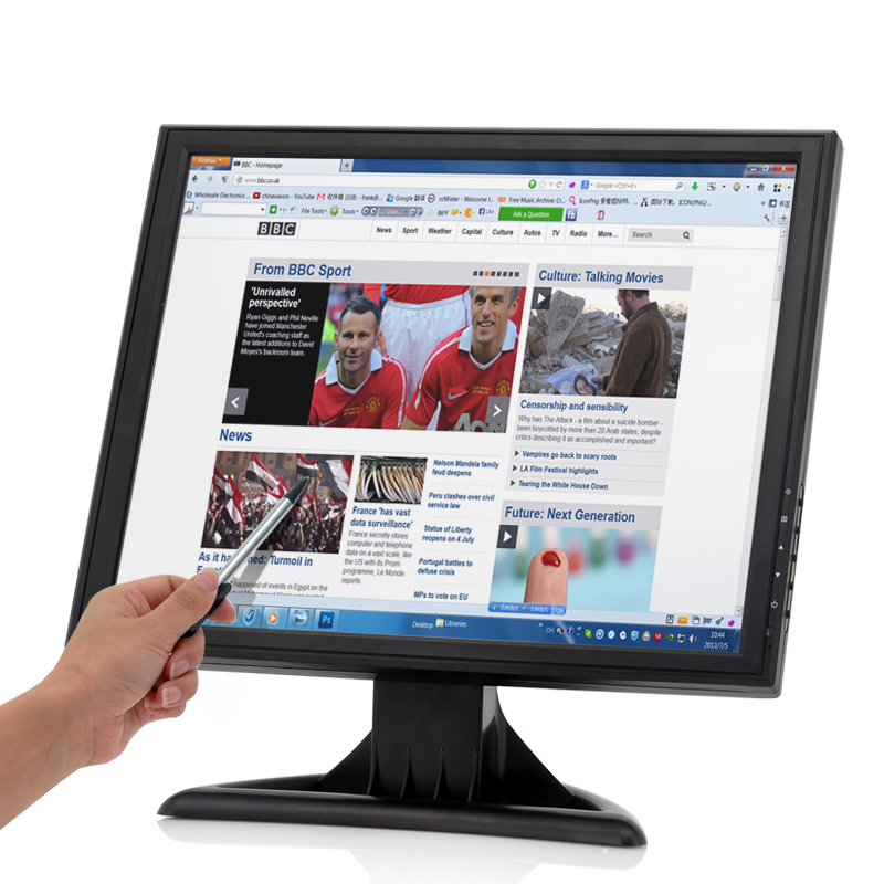 (M) 17 Inch High Res Touch Screen LCD Monitor (M)