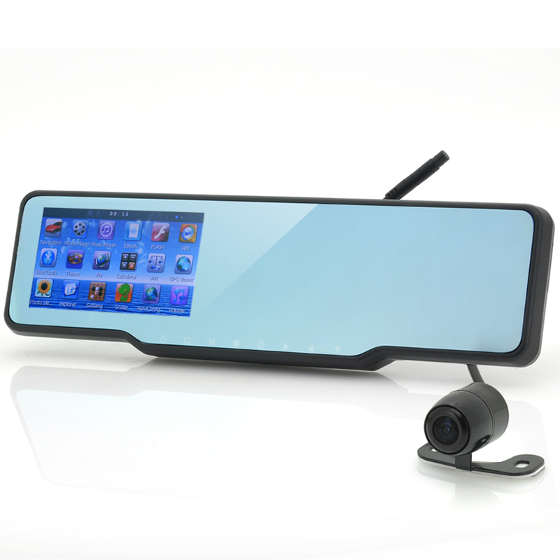 (M) Car Bluetooth Rearview Mirror Kit (M)