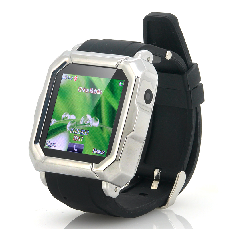 (M) Quad Band Smartwatch Phone - Mercury (M)