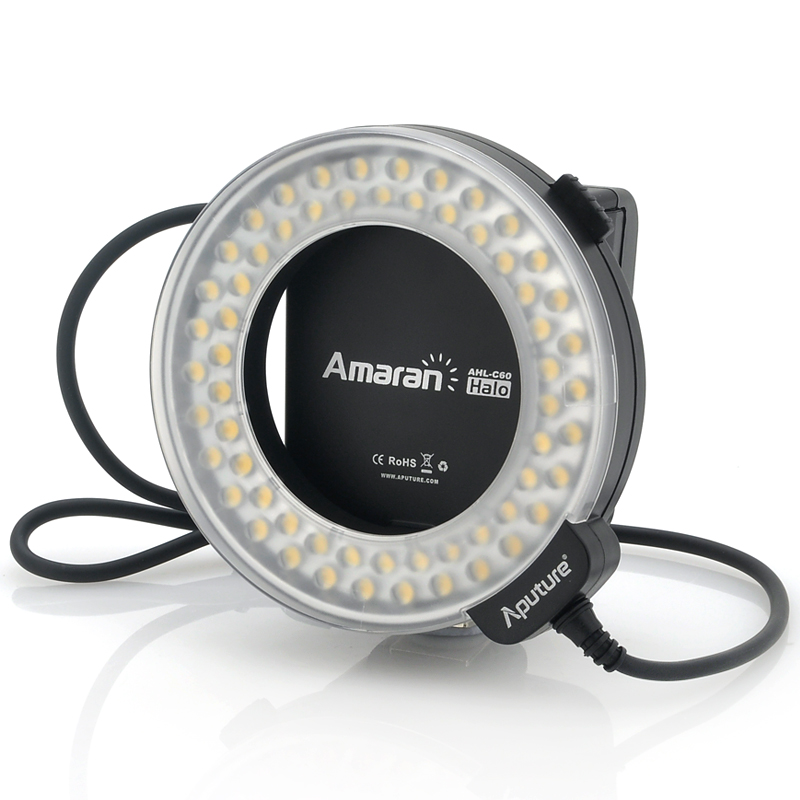 (M) Macro LED Ring Light - Apurture AHL-C60 (M)