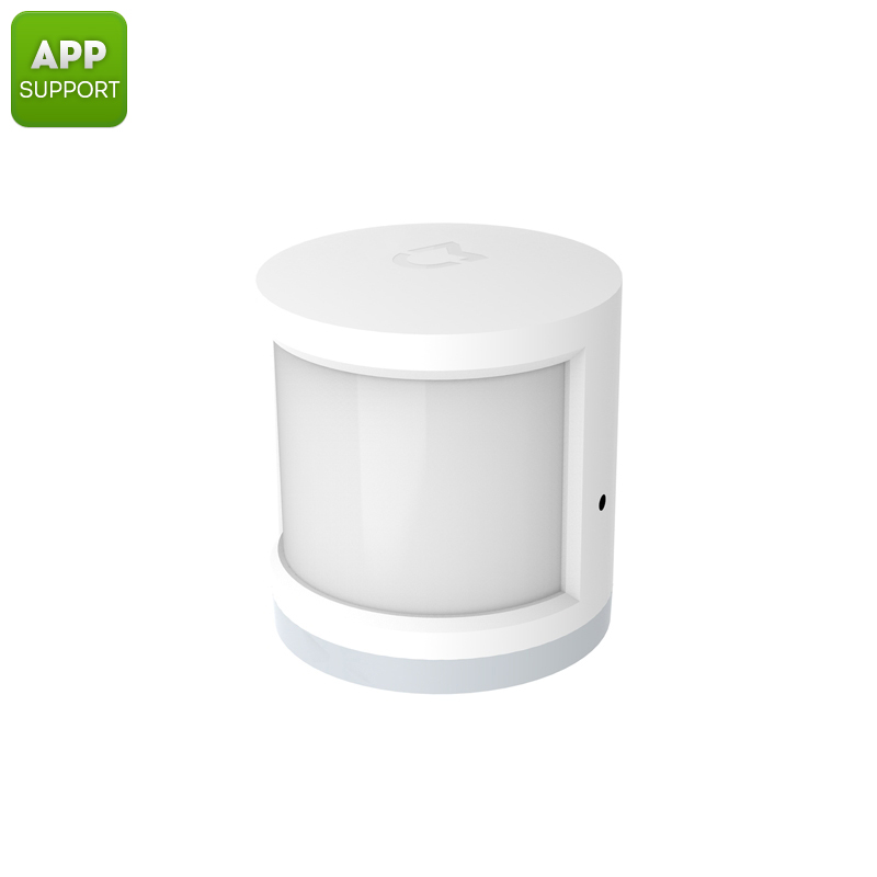 Xiaomi Motion Sensor - App Control, Compatible With Xiaomi Multifunctional Gate Way, Inside And Outside Usage