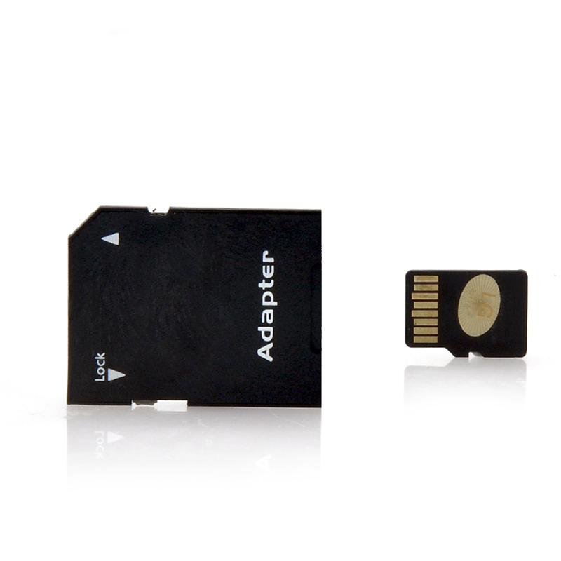 64GB TF Card + TF to SD Adapter - Class 10 SDHC