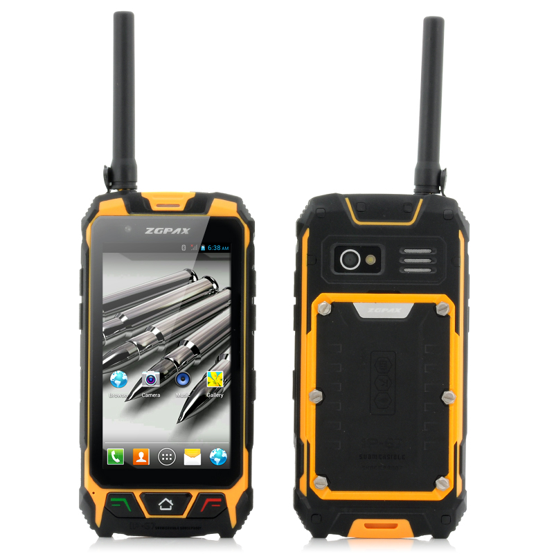 (M) ZGPAX S9 Walkie Talkie IP67 Android GPS Phone (M)