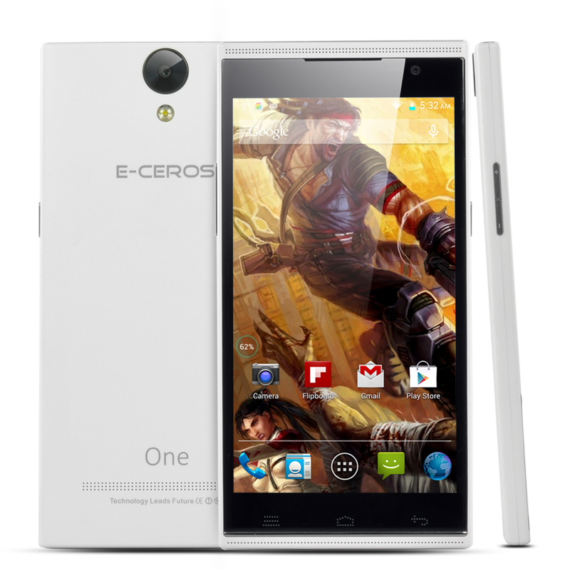 (M) E-Ceros One Android Smartphone (White) (M)