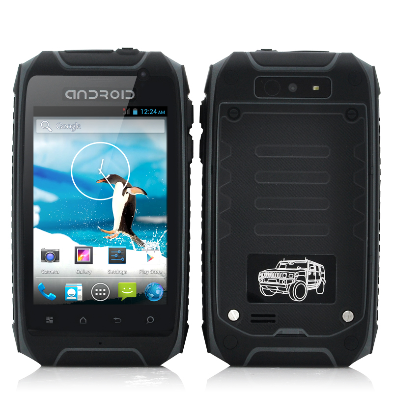 (M) Rugged Android 4.2 Phone - Stardust (Gr) (M)