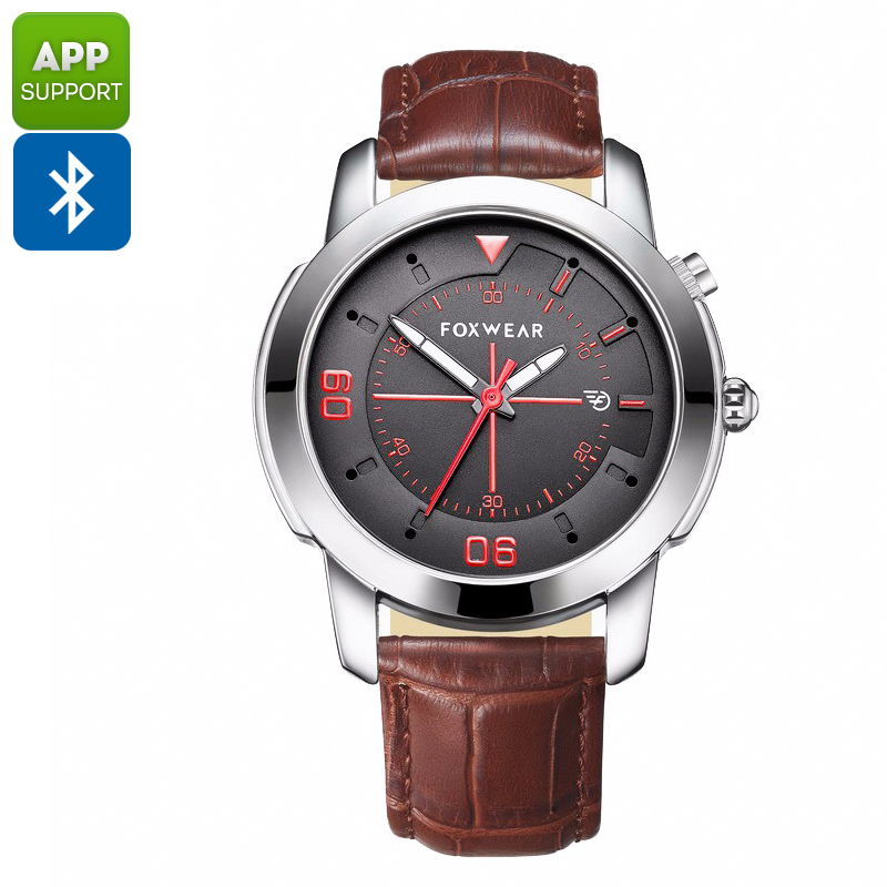 Foxware Y22 Sports Watch - Swiss Ronda 751, Bluetooth 4.0, Pedometer, Calories Burned, Sleep Monitoring