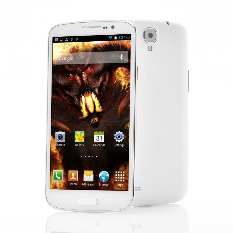 (M) 6.5 Inch 4 Core Android Phone -Behemoth (W) (M)