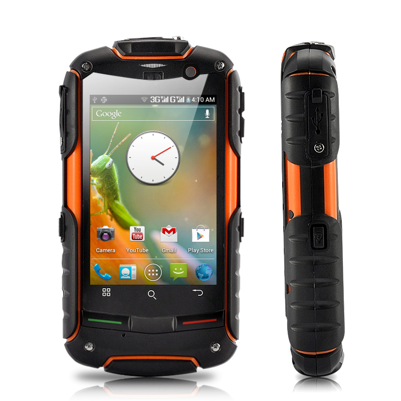 (M) Rugged GPS Android 4.0 Phone - Fortis Evo (M)