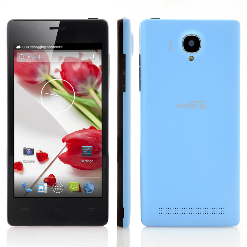 (M) XiaoCai X9S 4 Core Android 4.2 Phone (Blue) (M)