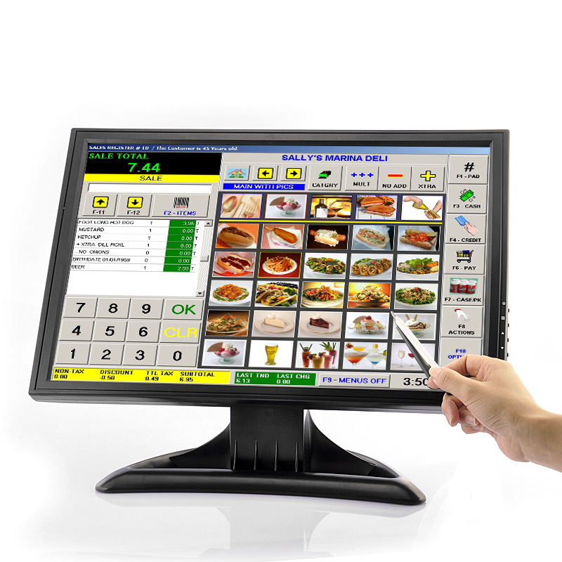 (M) High Res 19 Inch LCD Touch Screen Monitor (M)