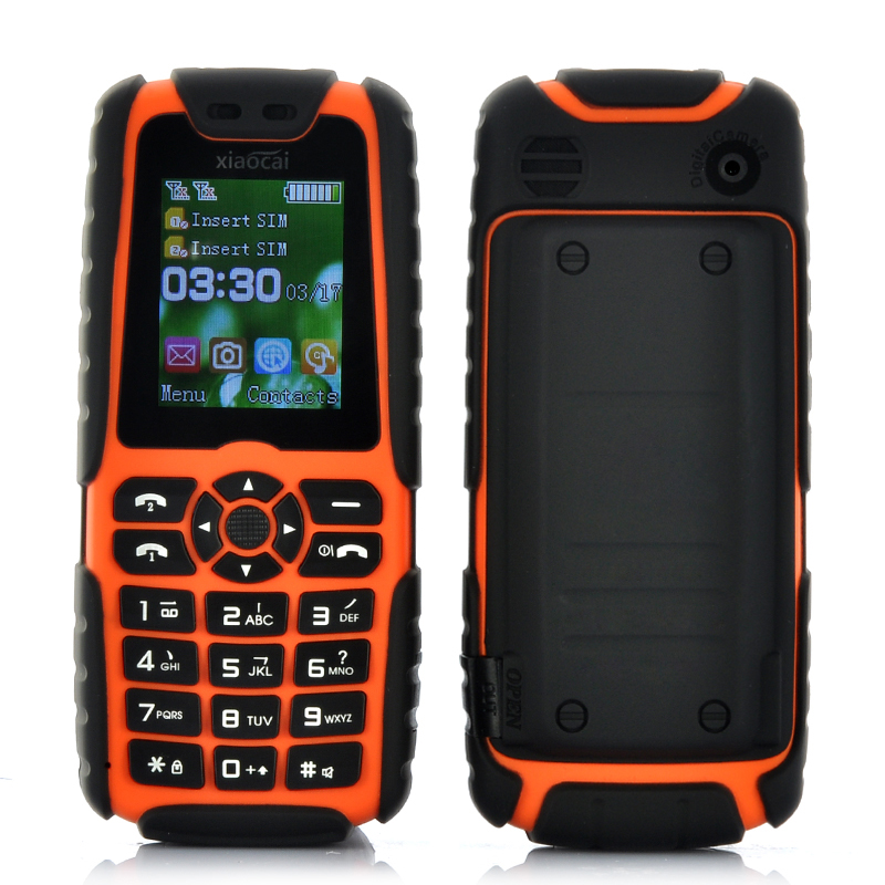 (M) Xiaocai X6 Phone (Orange) (M)