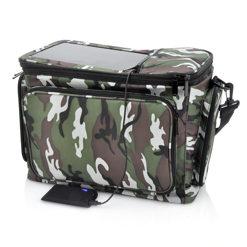 (M) Thermal Bag with Solar Panel + Backup Battery (M)