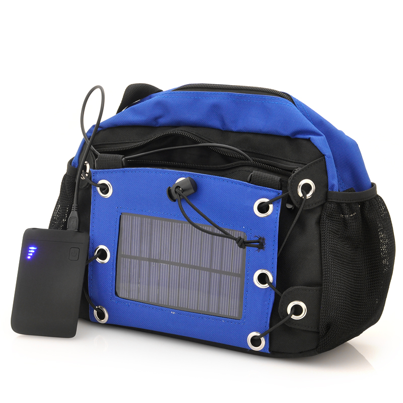 (M) Camera Bag with Solar Panel + 2200mAh Battery (M)