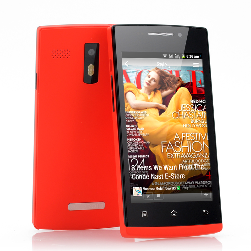 (M) 4 Inch Budget Android Smartphone - Hong (R) (M)