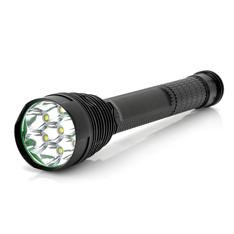 (M) 7x Cree XM-L T6 Flashlight (M)