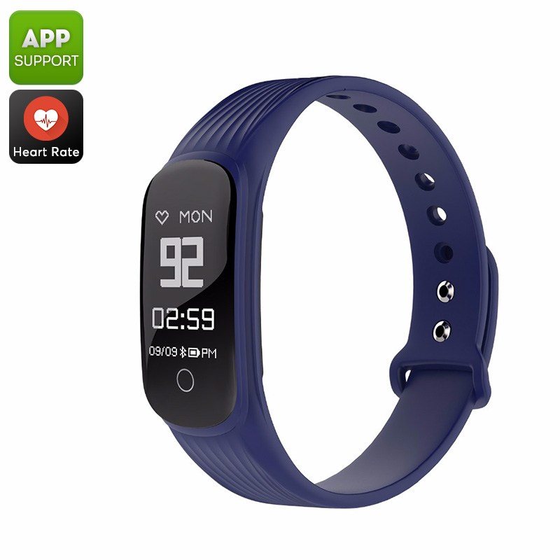 MGCOOL Band 4 Fitness Tracker Bracelet - 0.96 Display, Bluetooth 4.0, HR Monitor, Pedometer, Distance Tracker, Calorie Counter