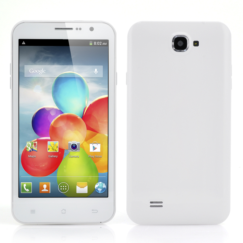 (M) Quad Core Android Phone (White) (M)