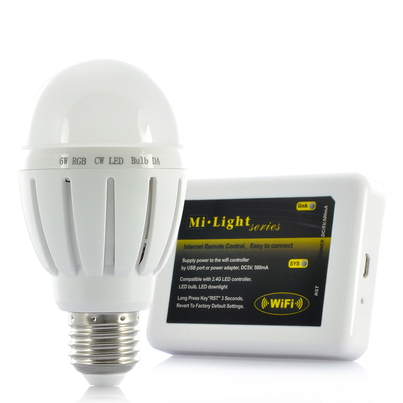 (M) LED Light Bulb w/ Wi-Fi Control Kit (M)