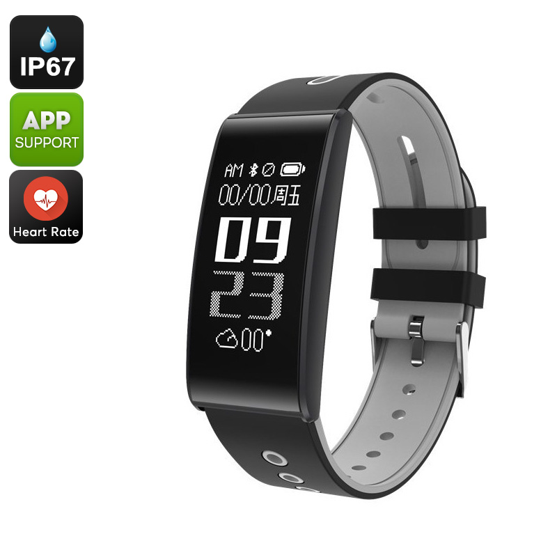 ORDO S13 Fitness Tracker Bracelet - Bluetooth 4.0, Heart Rate, Blood Pressure, Pedometer, Calorie Counter, IP67, App Support