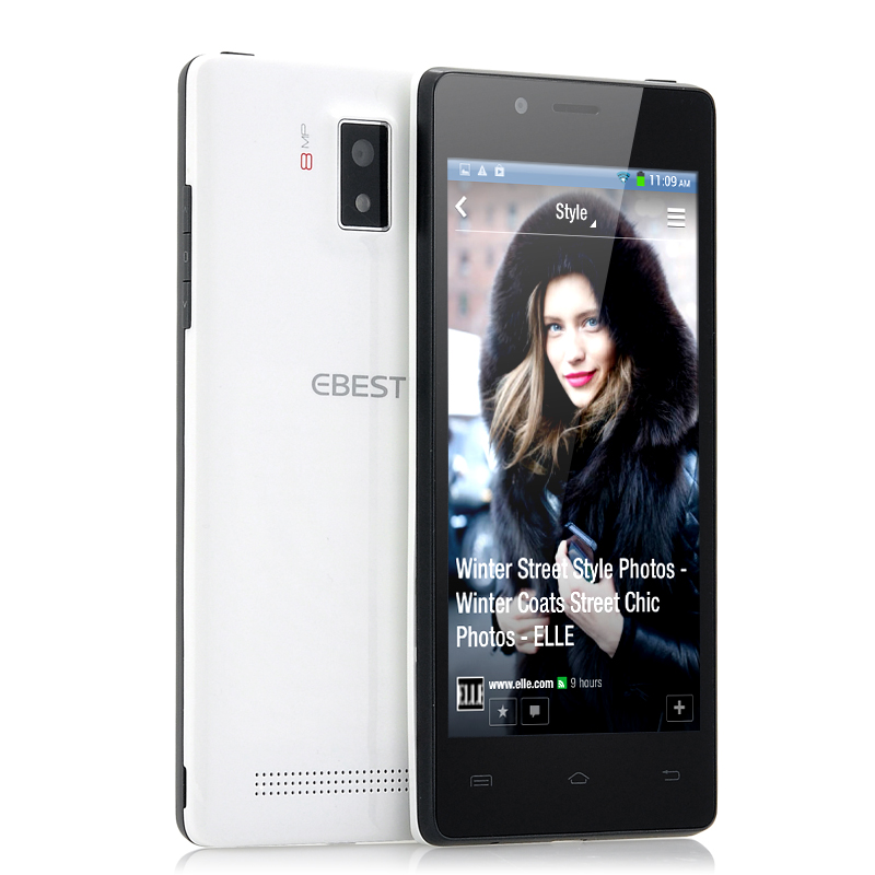 (M) QHD OGS Screen Android Phone -EBEST Z5 (W) (M)