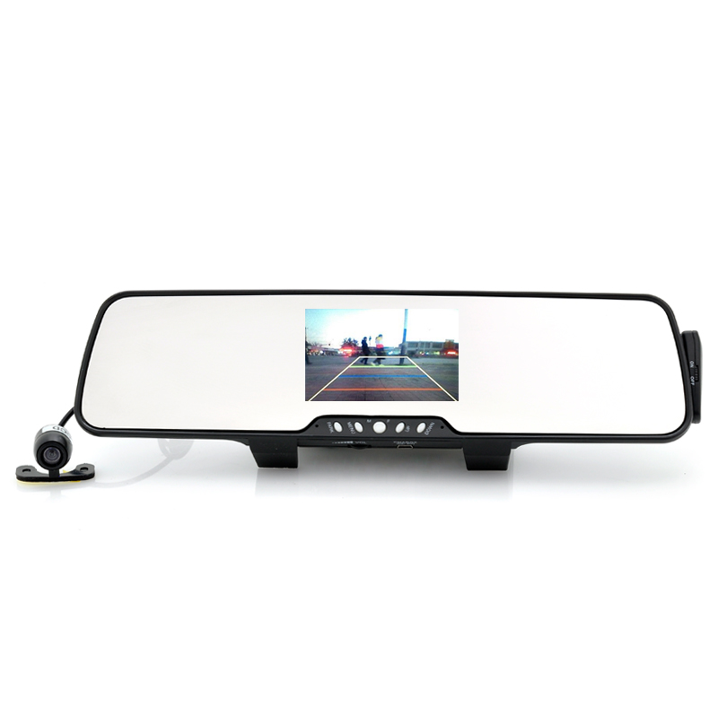 (M) Rear-View Car Mirror with Parking Camera (M)