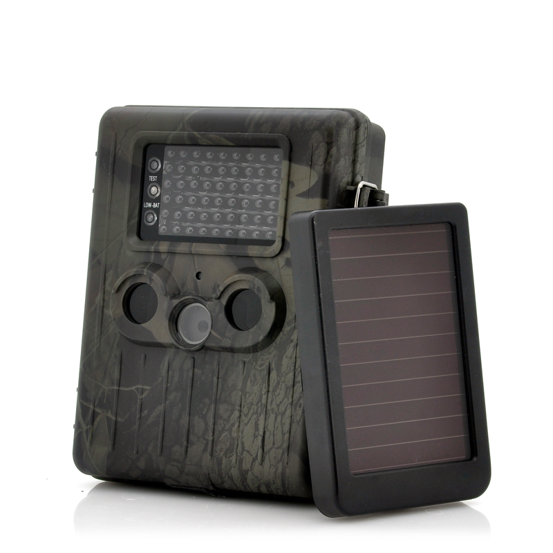 Cvasion Game Camera With Rechargeable Battery + Solar Panel