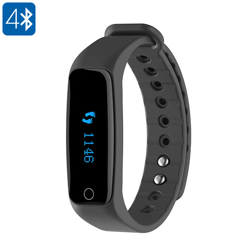 Teclast H30 Heart Rate Monitor - Calorie Counter, Pedometer, Call And Message Reminder, Weatherproof, OLED Display