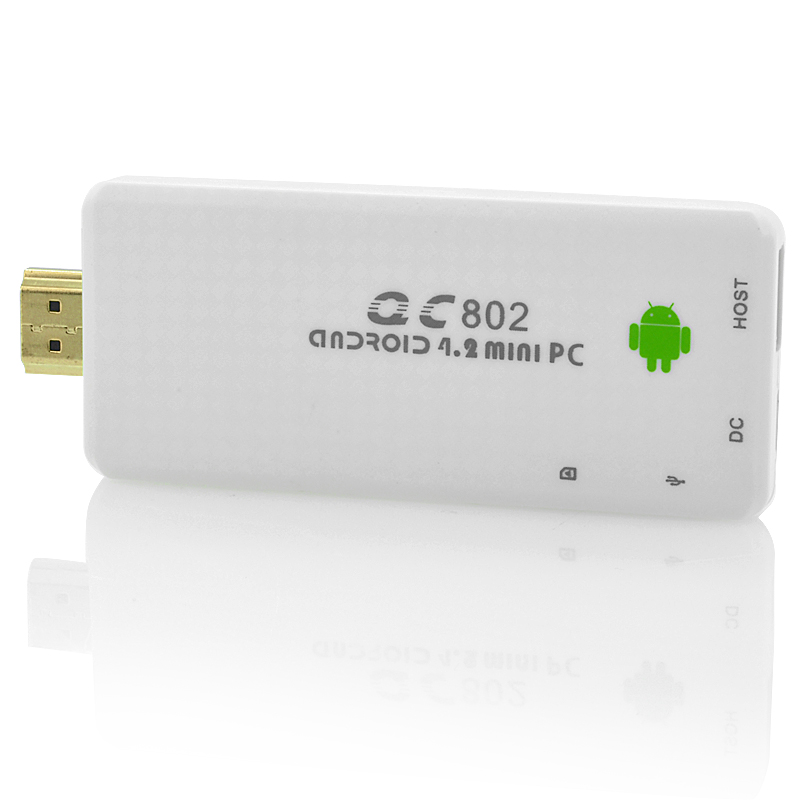 (M) 4-Core Android 4.2 TV Dongle - Generation (W) (M)