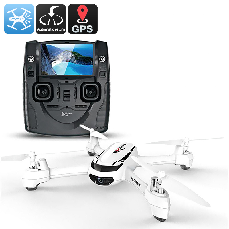 Hubsan X4 H502S RC Drone - 720p Camera, 5.8G Real-Time Transmission, GPS, Headless Mode, 360-Degree Spin, 300m Range