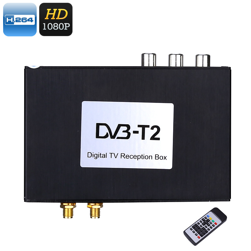 Car Digital TV Receiver Box - Wide Frequency Range, Two Way Video, 1080p Support, Multi-Language Subtitles