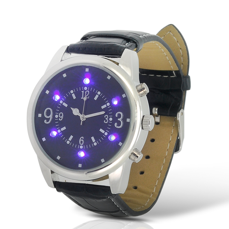 (M) Analog Watch w/ Money Inspection LED Light (M)