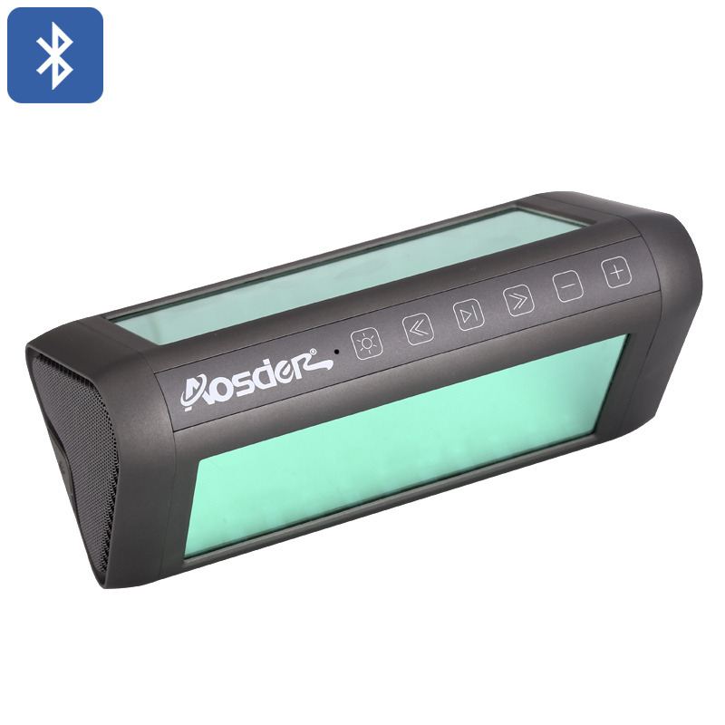 Aosder Magic Mirror Portable Bluetooth Speaker - 75dB - DSP Sound  Processing Chip - EQ Adjustment - Built-in Mic - LED Light Effects