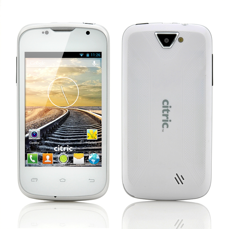(M) Dual Core Android 3G Smartphone (White) (M)