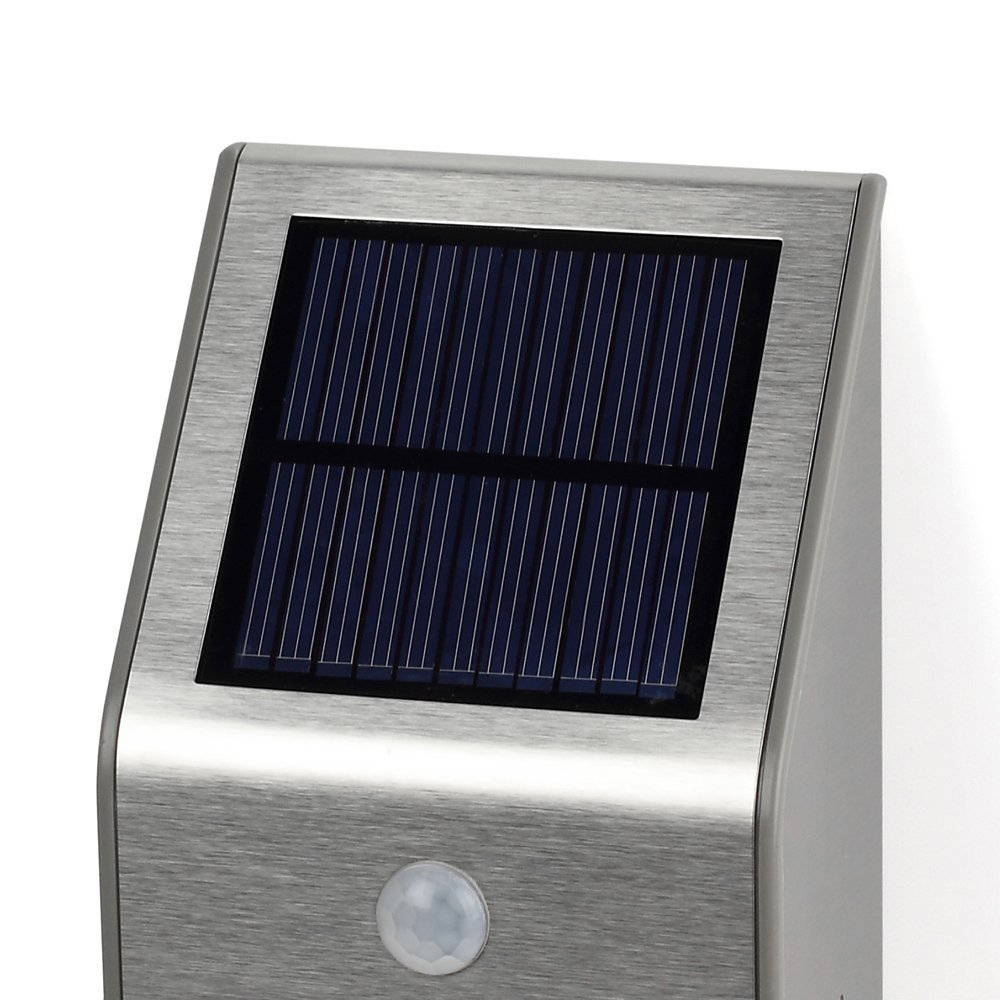 outdoor solar powered led security light 50 lumens. Black Bedroom Furniture Sets. Home Design Ideas