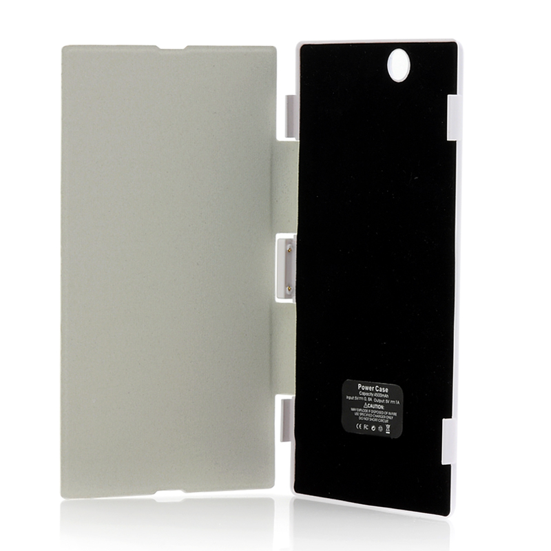 (M) 4500mAh Battery Case For Sony Xperia Z Ultra (M)